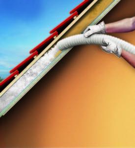 Knauf Insulation Supafil Timber Frame Für Hohlräume von Wänden, Decken und Dächern im Holzbau
